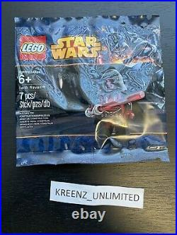 LEGO Star Wars Darth Raven Revan Minifigure NEW Sealed In Bag 5002123 Rare