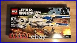LEGO Star Wars Rebel U-Wing Fighter (75155) Retired New Sealed NBO Rare NICE BOX
