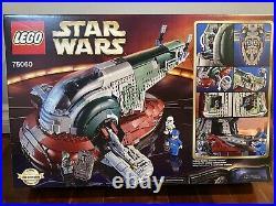 LEGO Star Wars Slave I (75060) Set Boba Fett NIB Rare Retired Sealed