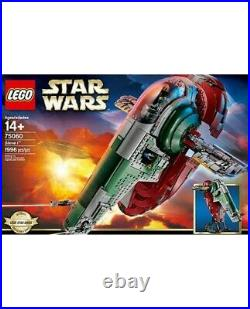 LEGO Star Wars Super Rare UCS Slave I 75060 New & Sealed