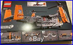LEGO TECHNIC 42113 BELL BOEING V-22 OSPREY NEW SEALED (US Seller-EXTREMELY RARE)