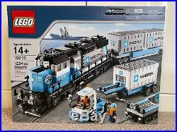 LEGO Trains Maersk Train Set 10219 VERY RARE BRAND NEW SEALED BOX