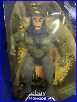 LJN Vintage Thundercats Mongor on Foreign French German Card Super Rare Sealed