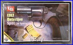 LS 11 Colt. 38 Detective Special RareVintagePlastic Model Kit Sealed