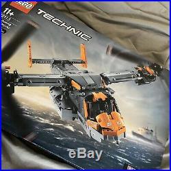 Lego 42113 Technic Bell-boeing V-22 Osprey Brand New / Sealed Rare Model