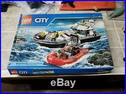 Lego 60129 City Police Patrol Boat Rare New & Factory Sealed. Read and see pic