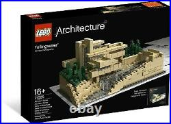 Lego Architecture Fallingwater 21005 New In Sealed Box Rare