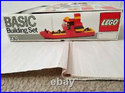 Lego Basic Building Set 730 Brand New Mint in Sealed Box-RARE HARD TO FIND-NICE