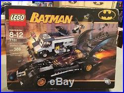 Lego Batman 7781 The Batmobile Two Faces Escape New Sealed 2006 Super Rare