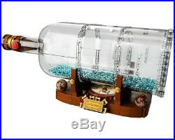 Lego Boat in a Bottle (Leviathan) # 21313 (Sealed) (Very RARE) NEW Sealed Cuusoo