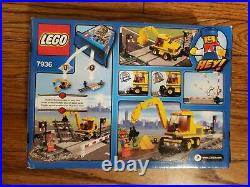 Lego City 7936 Train Level Crossing Limited Edition Rare Retired Set New Sealed