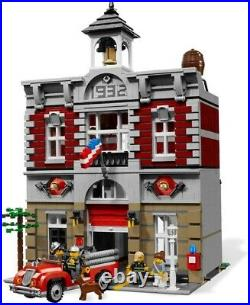 Lego Creator Fire Brigade 10197 New Sealed MINT Condition Retired & Rare