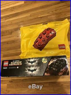 Lego DC Comics Batman The Tumbler Batmobile 76023 New Sealed Retired Rare