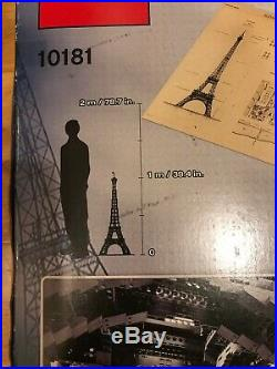 Lego Eiffel Tower 10181 Rare HTF Collectors Unopened Sealed. New in box