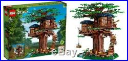 Lego Ideas Treehouse # 21318 (Sealed) (Very RARE) Limited NEW (2 Sets of Leaves)