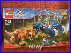 Lego Jurassic World 75918 T. Rex Tracker New Sealed Retired Rare Set