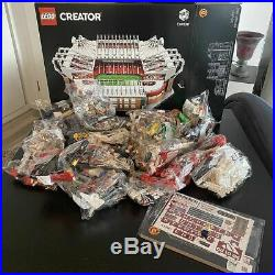 Lego Old Trafford Manchester UTD Home Ground # 10272 (Sealed) (Very RARE) NEW