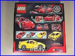 Lego Racers 8143 Ferrari Challenge New sealed RARE. MINT