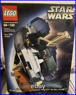 Lego Star Wars 7153 Episode II Jango Fett's Slave I Brand New Sealed Rare Retire