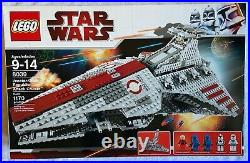 Lego Star Wars 8039 Venator Class Republic Attack Cruiser New SEALED BOX Rare