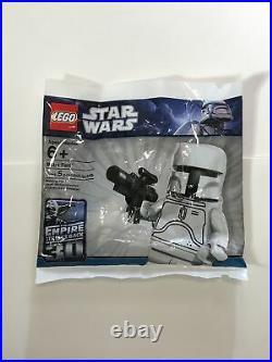 Lego Star Wars White Boba Fett 30th Anniversary New, Sealed Polybag Rare 4597068