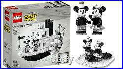Lego Steamboat Willie # 21317 (Sealed) (Very RARE) 90th Anniversary Edition NEW