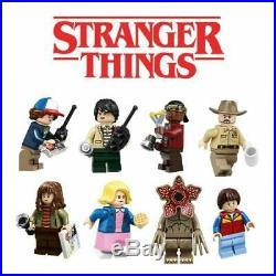 Lego Stranger Things # 75810 (Sealed) (Very RARE) NEW / Plus 8 Minifigures