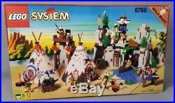 Lego Wild West 6766 Rapid River Village (343 pcs) RARE New MISP Sealed VGC 1997