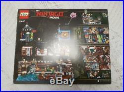 Lego the Lego Ninjago Movie Ninjago City Docks new sealed (70657) RARE