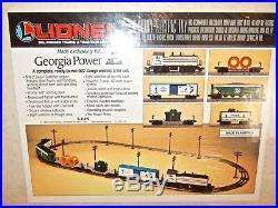 Lionel 6-11819 Rare un-cataloged Georgia Power Set -Still Sealed in plastic-Mint