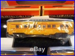 Lionel Union Pacific Yellow and Grey add on 3 car set Rare new in the box sealed