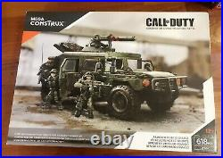 MEGA BLOKS COD Call of Duty Armored Vehicle Charge DPB57 NEW Sealed RARE