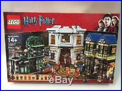 MINT Sealed New Lego Harry Potter Diagon Alley 10217 Discontinued & Rare
