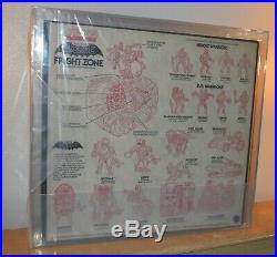 MOTU FRIGHT ZONE, Masters of the Universe MIB Sealed AFA Graded 80 RARE! 1985