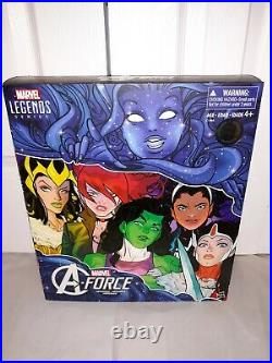 Marvel Legends SDCC TRU A-Force Heroines 6-Pack Exclusive 2016 MISP SEALED RARE