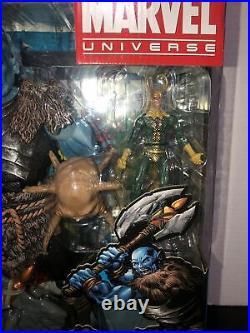 Marvel Universe Legends 12 Savage Frost Giant Walmart Exclusive Figure RARE
