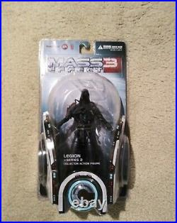 Mass Effect 3 Big Fish Collector Action Figure Legion Series 2 New Rare Factseal