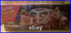 Mattel #13185 Barbie Mini Van 1995 Vintage RARE COLLECTIBLE NEW In Box. Sealed
