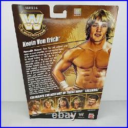 Mattel WWE Elite Legends Series 6 Kevin Von Erich Sealed New in BoxRARE NIB