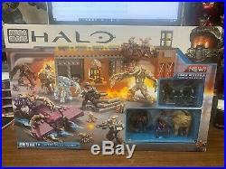 Mega Bloks Halo Flood Invasion 97430 New in Box SEALED 2015 SUPER RARE