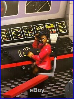 Mega Bloks Star Trek U. S. S. Enterprise Bridge Collector Construction Sealed RARE