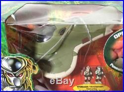 Micro Mchines Predator Action Fleet Warrior Transport Rare Sealed Galoob 73400