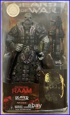NECA Gears of War General Raam Figure Sealed NIB 7 TRU EXCLUSIVE RARE 2010
