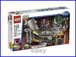 NEW IN SEALED BOX LEGO TOY STORY Trash Compactor Escape 7596 / 370 pces RARE