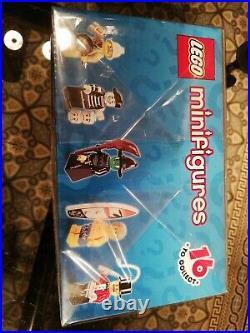 NEW LEGO Series 2 Minifigures Set of 60 Packet Rare Set Sealed Box (8684)