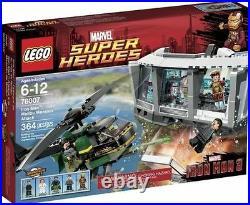 NEW SEALED BOX Marvel Superheroes LEGO 76007 Ironman Malibu Mansion Attack