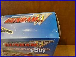 NEW SEALED Bandai Gundam Wing 12in Deluxe Mobile Suit mode to Bird Mode (RARE)