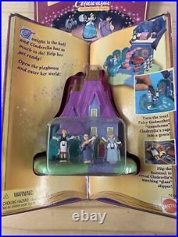 NEW SEALED Disney Cinderella Polly Pocket Figures Tiny Collection RARE House