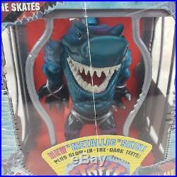 NEW SEALED IN PLASTIC 2 Street Sharks LOT, Big Slammu & Blades MINT VERY RARE
