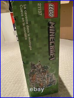NEW SEALED LEGO Minecraft 21137 RARE The Mountain Cave RETIRED